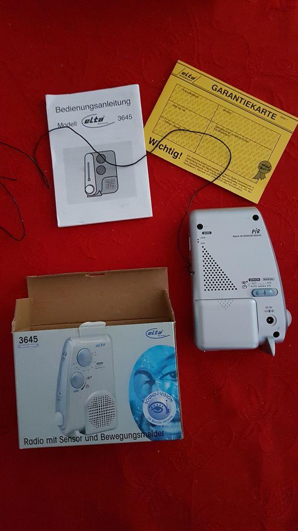 Radio mit IR Sensor
