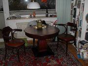 Jugenstil Tisch mit 3 Thonet