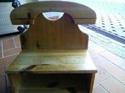 Telefonregal Ablage aus Holz in