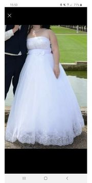 wunderschönes Brautkleid gr 42 bis