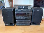 Stereoanlage Sony MHC-501 mit Boxen