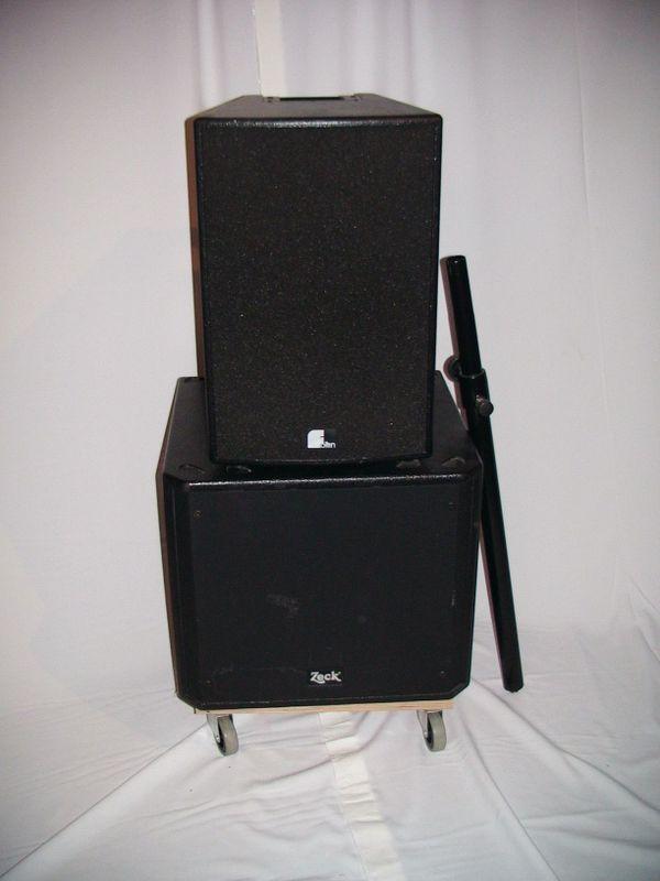 PA Bass Boxen