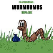 Wurmhumus 100 BIO Dünger mit
