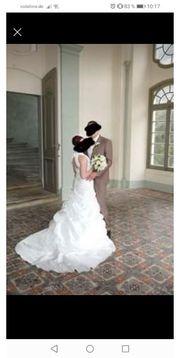 Brautkleid Gr 36 38 zu