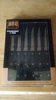 BBQ Premium Steakmesserset 6teilig unbenutzt