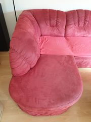 Dreier-Couch plus Sessel