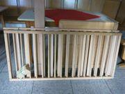 Kinderbett Buche natur unbehandelt 140x75cm