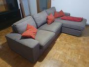 3er Sofa mit Récamiere und