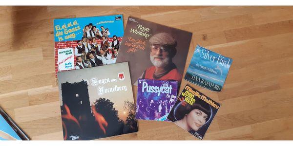 Schallplattensammlung ca 55 LP und