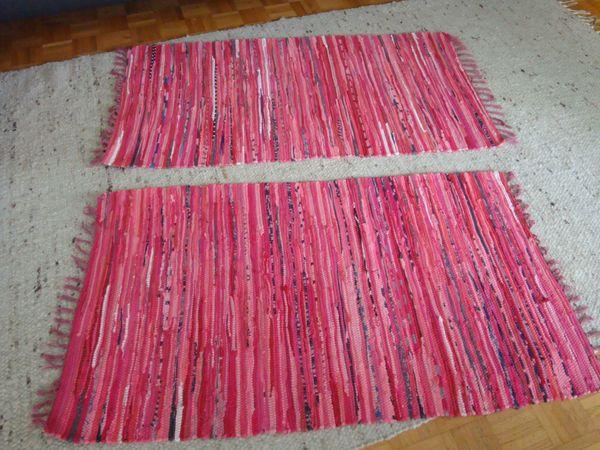2 neuwertige Bändelteppiche Maße s
