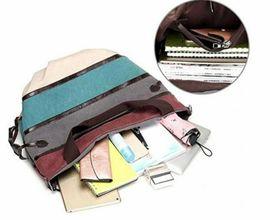 Mehrfarbige Canvas-Hobo-Tasche Handtasche Schultertasche lässig: Kleinanzeigen aus Gelsenkirchen Resse - Rubrik Taschen, Koffer, Accessoires