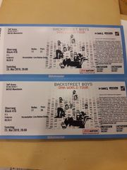 Zwei Tickets für Backstreet Boys