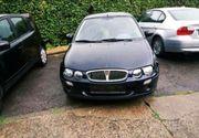 Rover 25 schwarz nicht fahrtüchtig