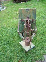 5-Schaar -Beet- oder Schälpflug Leiterwagen