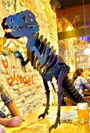 Dino Skulptur