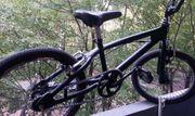 BMX Rad in schwarz - techn