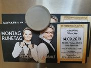 2 Tickets PetzenHauser Wählt