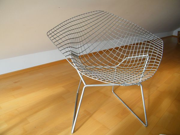Original Diamond Chair Harry Bertoia