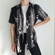 Vintage Bluse Hemd 40 Pullover