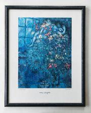 Schöner Kunstdruck Marc Chagall mit