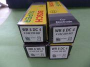 4 Zündkerzen NEU Bosch WR8DC4