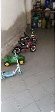 Kinder- Fahrzeuge
