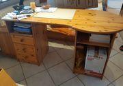 Schreibtisch Schränke Astkiefer