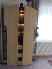 Elegante Schrankvitrine mit Beleuchtung