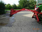 Traktor Hecklader Mistgabel