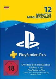 PlayStation®Plus Mitgliedschaft für 12 Monate