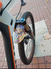 Mountainbike Spritzschutz