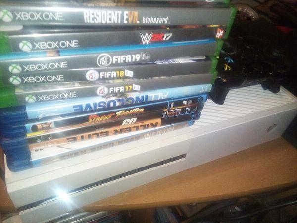 Xbox one 500gb mit zubehör