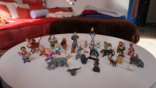 Verschiedene Spielfiguren