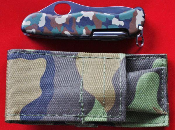 """Victorinox Taschenmesser Trailmaster \""""Camouflage\"""", neu mit Gürteltasche"""