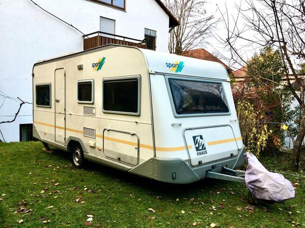 Wohnwagen Knaus Sport485S mit Klimaanlage
