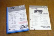 Sony Betamax Service Manuals SL-C6E