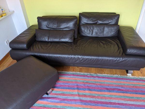 Ledercouch Mit Hocker Ewald Schillig In Berlin Polster Sessel Couch Kostenlose Kleinanzeigen Bei Quoka De
