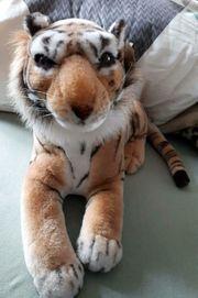Tiger Stofftier unbespielt