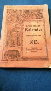 Kalender von 1913