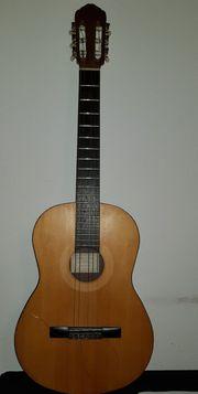 Reparaturbedürftige Gitarre Günstige abzugeben