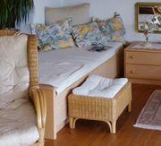 Hülsta Studioform Bett und Nachttisch