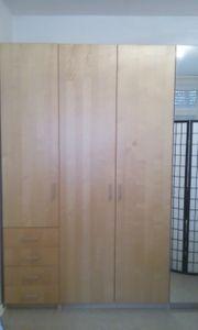 IKEA Kleiderschrank Buche Spiegelschrank Garderobe