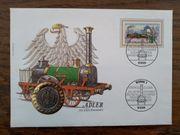 Adler 150 Jahre Eisenbahn NUMISBRIEF