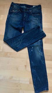Diesel Cuddy Jeans blau