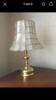 Lampe Muschellampe aus den achtziger