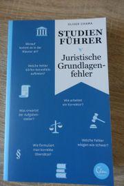 Juristische Grundlagenfehler Studienführer neu unbenutzt