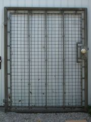 Gartentüre Gitter-Zauntüre