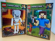 Lego Minecraft Skeleton 21150 Steve
