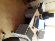 Schreibtisch groß Massiv