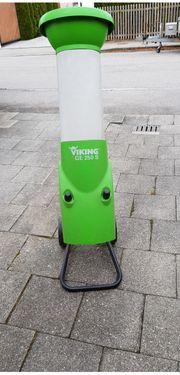 VIKING GE 250S Allround-Elektro-Gartenhäcksler gebraucht